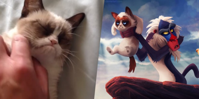 Grumpy Cat s'invite dans les films Disney