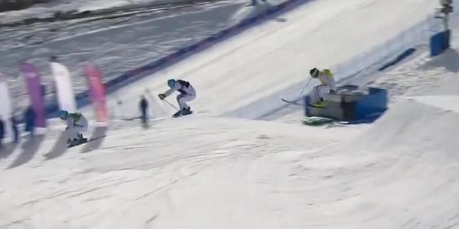 Un triplé français historique en skicross (JO de Sotchi)