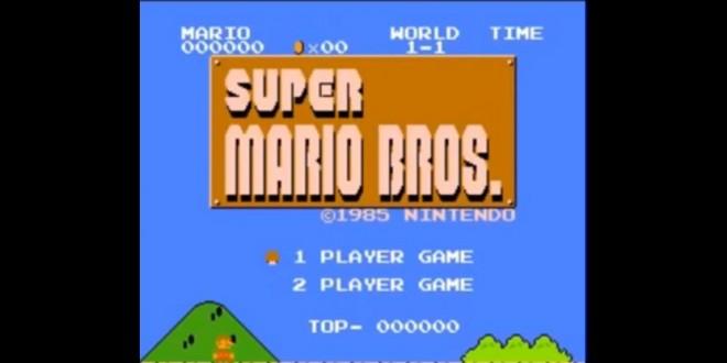 Il finit le jeu Super Mario Bros en faisant le moins de points possible