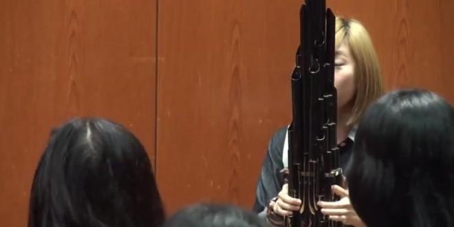 La musique de Mario Bros jouée avec un Sheng