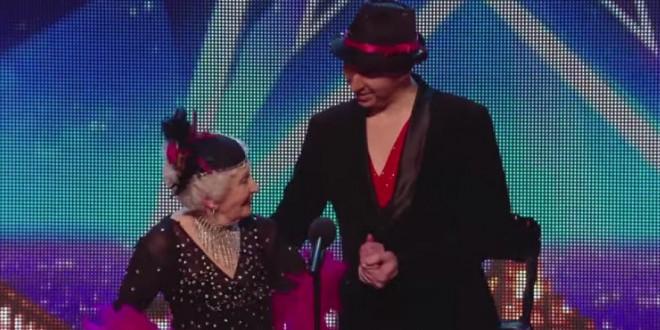 Une mamie danseuse de 80 ans dans Britain's Got Talent