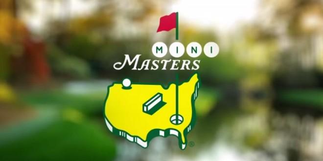 Masters de golf version mini golf