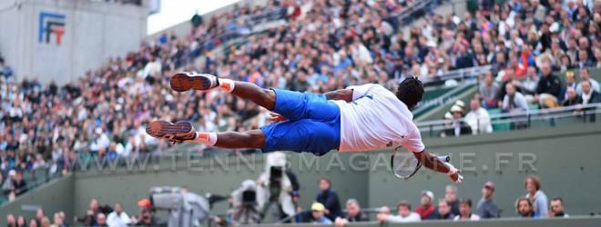 L'incroyable plongeon de Gaël Monfils à Roland-Garros