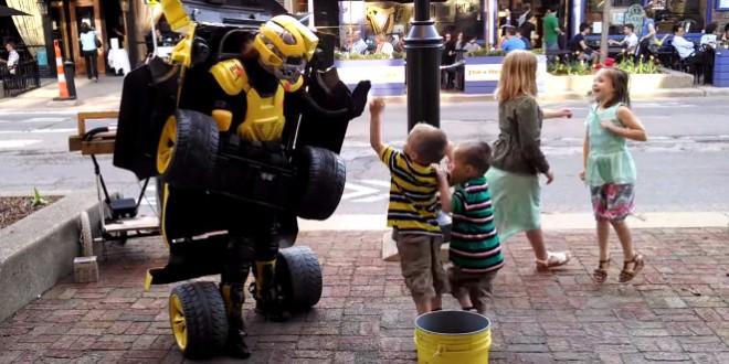 Un vrai Transformers Bumblebee