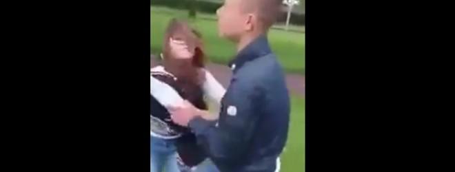 Un ado néerlandais agresse une fille