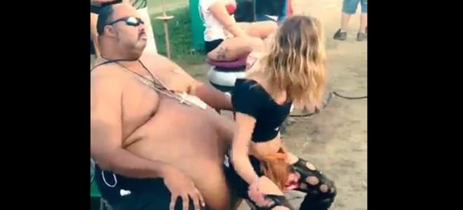 Un fat lap dance
