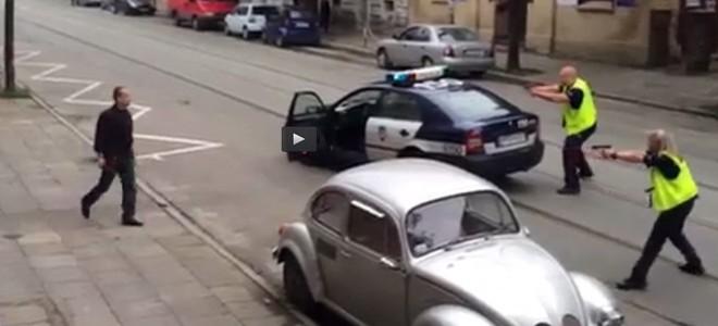 Fusillade en Pologne