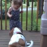 chien-enfant-rire-cute