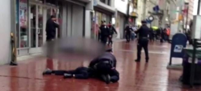 Des policiers attaqués à la hache à New-York