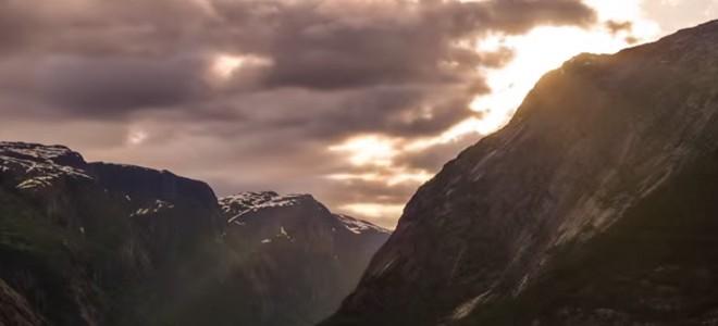 La Norvège en Timelapse