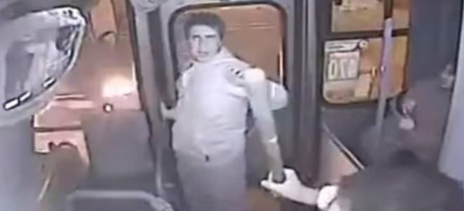 Instant Karma pour un voleur dans un bus