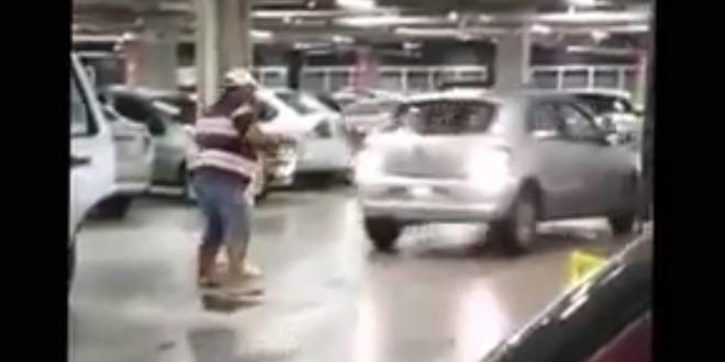 Road Rage pour une place de parking