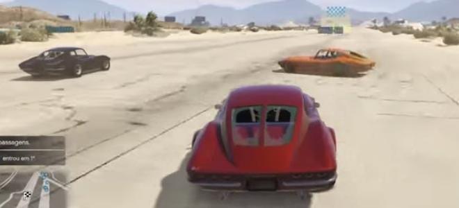 Une voiture se venge dans GTA V