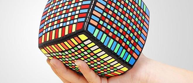 Pillow 13x13x13 IQ Brick, le plus grand Rubik's Cube