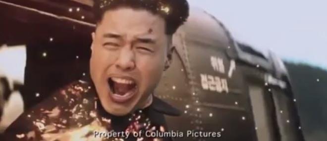 La scène de la mort de Kim Jong-un du film The Interview