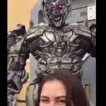 transformer-selfie