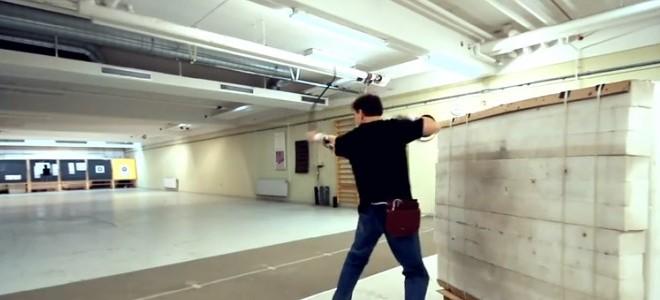 Lars Andersen le pro du tir à l'arc