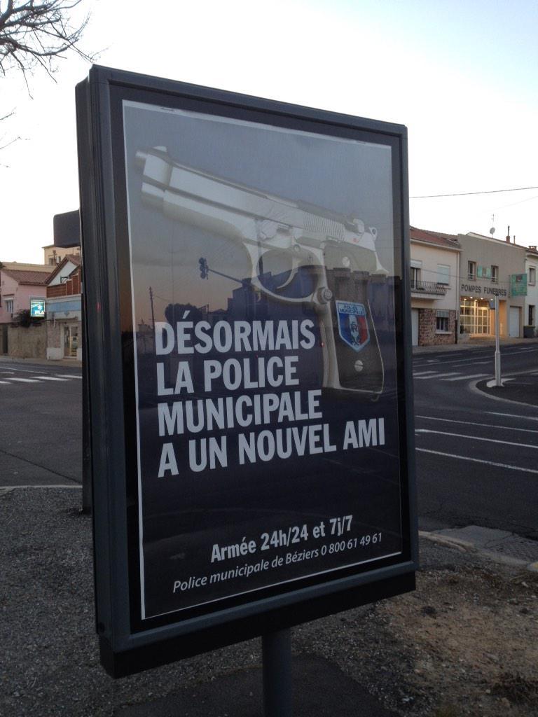 La police municipale de b ziers a un nouvel ami mega buzz for Piscine municipale beziers