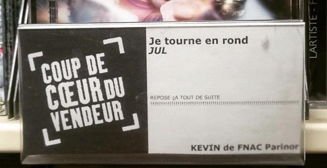 Kévin est l'employé du mois à la Fnac Parinor