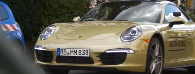 Passer son permis au volant d'une Porsche 911