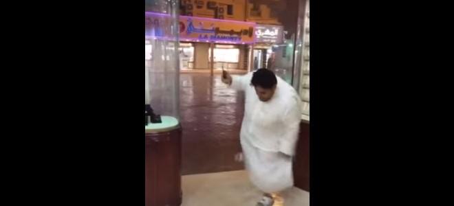 Les Saoudiens n'ont pas l'habitude de la pluie