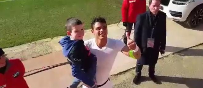 Le beau geste de Thiago Silva