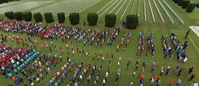 La commémoration WTF du centenaire de Verdun