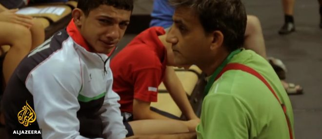 Un lutteur iranien doit simuler une blessure contre Israël