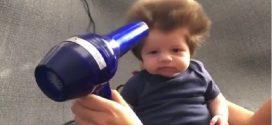 Le bébé à la coupe Chewbacca !