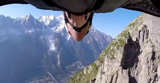 Vidéo : Un saut incroyable en Wingsuit  !