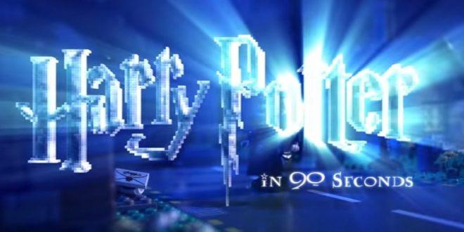 Vidéo: Harry Potter en 30 secondes !