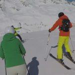 ski dangereux !