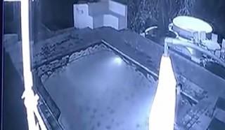 Vidéo :Un bain de minuit avec un crocodile !