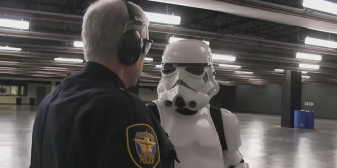 Star Wars : Des policiers au Texas recrutent des stormtroopers !