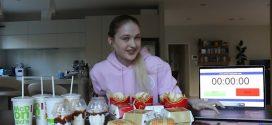 Incroyable ! Cette fille avale 4 menus Mcdo en moins de 15 minutes !