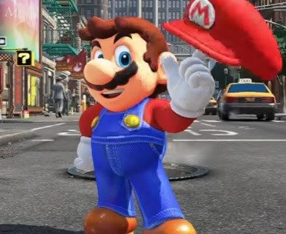 L'incroyable Super Mario à New York !