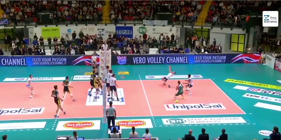 Un terrible smatch de Volley !