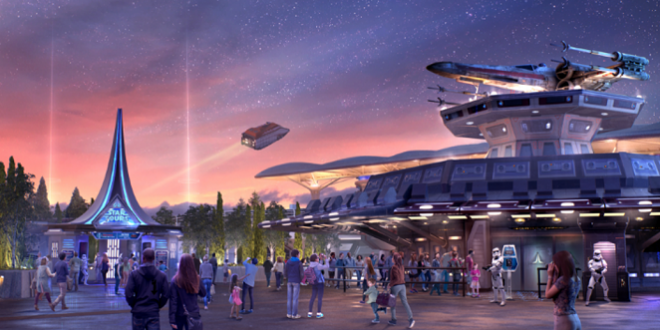DisneyLand va ouvrir prochainement sa nouvelle attraction  Star Tours !!!