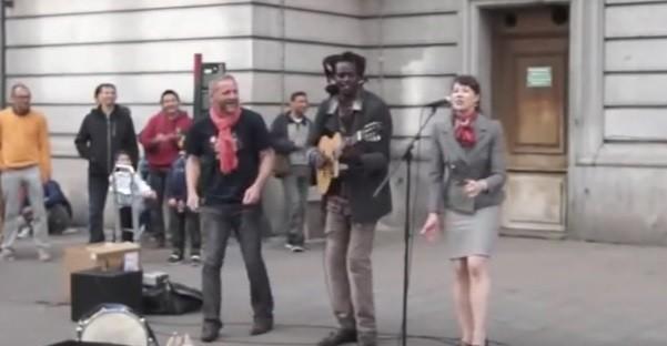 Incroyable reprise de Bob Marley !