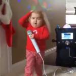fille qui chante Lorie